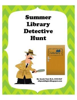 FREEBIE-Library Detective Hunt