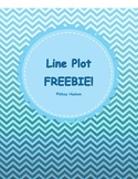 FREEBIE! Line Plot Worksheet!