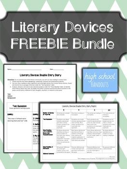 FREEBIE Literary Devices Bundle