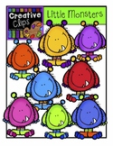 FREEBIE! Little Monsters {Creative Clips Digital Clipart}