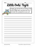 FREEBIE - Little Owl's Night Descriptive Writing Prompt