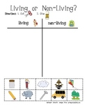 {FREEBIE} Living and Non-Living Picture Sort