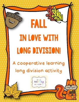 *FREEBIE!* Long Division Cooperative Learning Activity