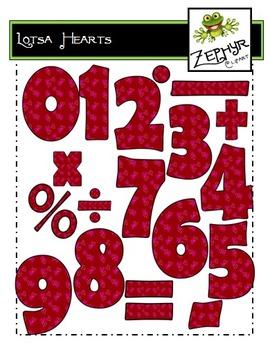 {FREEBIE} Lotsa Hearts - Math {Clip Art}