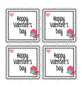 FREEBIE: Love Bird Valentine's Day Card