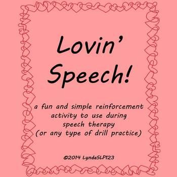 FREEBIE:  Lovin' Speech!