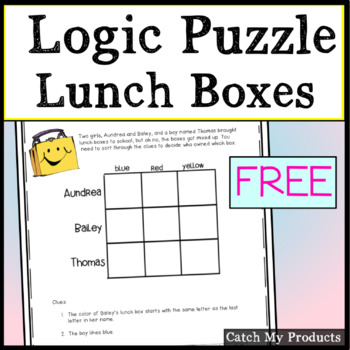 photo regarding Logic Puzzles for Kids Printable called Freebees Printable Logic Puzzle