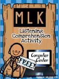 FREEBIE MLK Computer Center Activity: Listening Comprehension