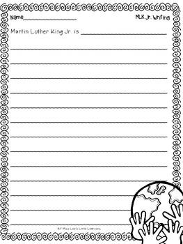 ***FREEBIE*** MLK Jr. Writing Prompts