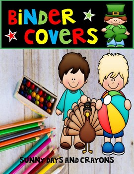 FREEBIE - MONTHLY BINDER COVERS -