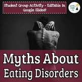 FREEBIE! Myths About Eating Disorders - Student Group Anal