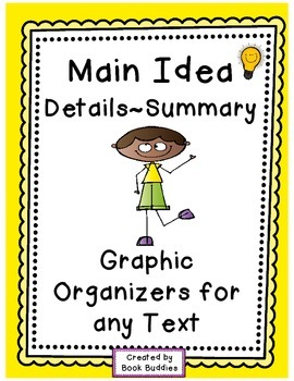 Main Idea Free Graphic Organizers
