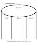 FREEBIE: Main Idea and Details Graphic Organizer