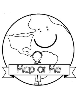 FREEBIE Map of Me Flipbook - Continent, Country, State, City/Neighborhood