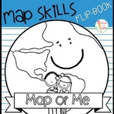 Map of Me Flip Book - Continent, Country, State, City, Neighborhood