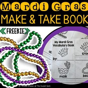 FREEBIE-- Mardi Gras Make & Take Vocabulary Book
