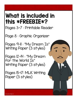 *FREEBIE* Martin Luther King Activities