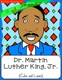 MLK Color & Learn, Martin Luther King, Jr.