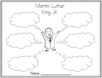 FREEBIE!! Martin Luther King, Jr. Organizer