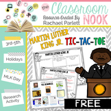 FREEBIE: Martin Luther King Jr. Tic-Tac-Toe {Research Activity}