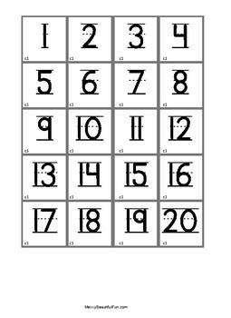 FREEBIE Math Center Flip And Fish Number Sense Game