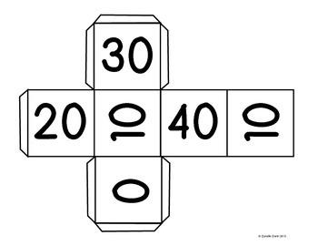 FREEBIE- Math Center Game