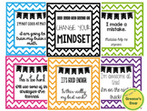 FREE Change Your Math Mindset Signs