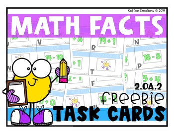 FREEBIE! Math Facts MOO-vement! {2.OA.2}