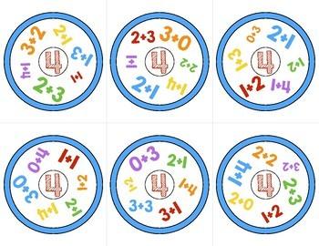 FREEBIE Math Game Addition to 10