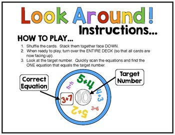 Addition Math Game FREE!