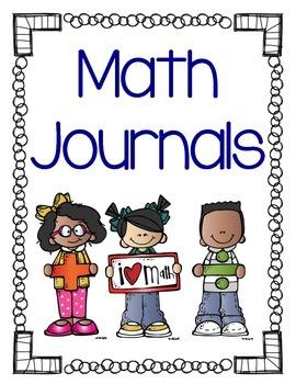 FREEBIE Math Journal Binder Cover