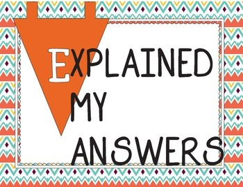 FREEBIE: Math SELFIE Banner to encourage self-reflection!