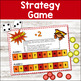 Addition Math Strategy Game - Super Hero Theme