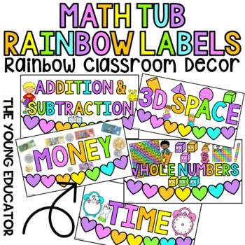 FREEBIE*** Math Tub Labels