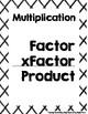 {FREEBIE} Math Vocabulary {Poster}