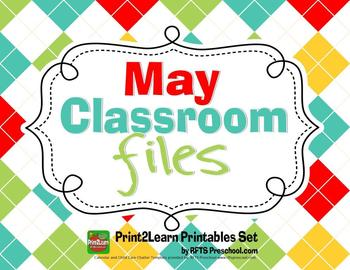 May Classroom Teacher Files