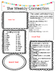 FREEBIE!!! McGraw-Hill Reading Wonders 4th grade EDITABLE Weekly Newsletter