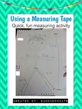 FREEBIE: Measurement- Using a measuring tape