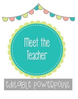 FREEBIE: Meet the Teacher