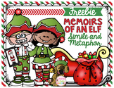 Memoirs of an Elf Simile and Metaphor Task Cards Freebie