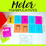 FREEBIE - Meter Manipulatives - Popsicle Stick Bar Lines