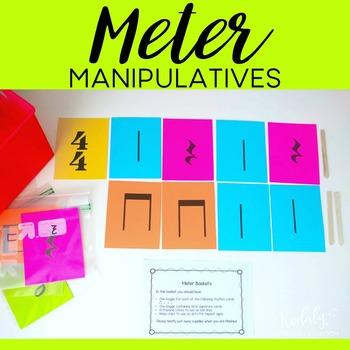 FREEBIE - Meter Manipulatives - Popsicle Stick Bar Lines