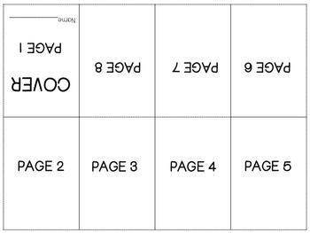 FREEBIE Mini Book Folding Instructions