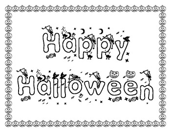 {FREEBIE} Mini Halloween Packet