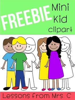 FREEBIE - Mini Kid Clipart