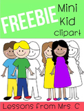 FREEBIE - Mini Kid Clipart