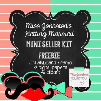 FREEBIE Mini Seller Kit {Frame, Papers, Clipart}