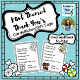 FREEBIE: Mint Themed Thank You's - Cards/Notes/Gift Tags