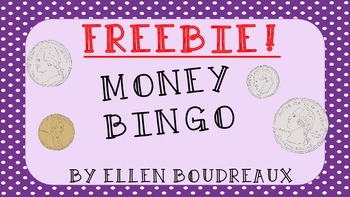 FREEBIE! Money Bingo!