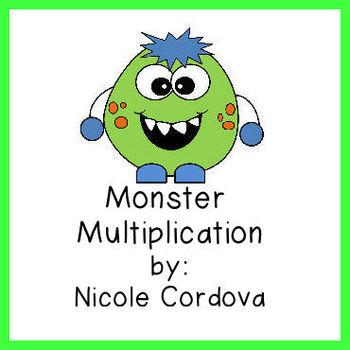 FREEBIE!  Monster Tooth Multiplication